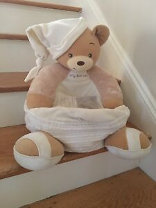 soft toddler chairs metal chair covers wedding baby first sofa bear super kid bedroom furniture image is loading