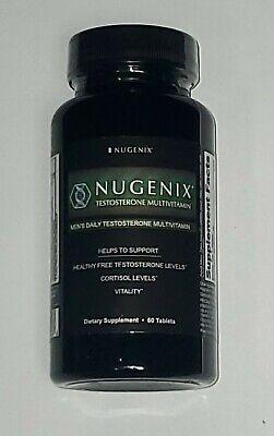 (New) Nugenix Booster Multivitamin Men's Daily 60 Tablets ...