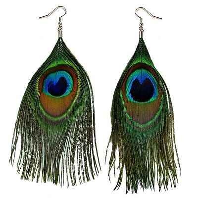 """Image result for peacock feather earrings"""""""