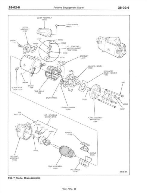 1986 Ford Bronco II Ranger Shop Service Repair Manual Book
