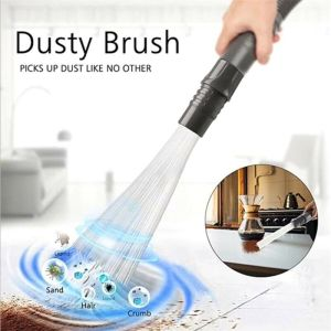 Multifunction Dust Vacuum Cleaner Household Straw Tubes Dust Brush Remover Tools