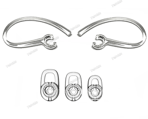 2 Earloops and 3 S/M/L Earbuds Set for Plantronics