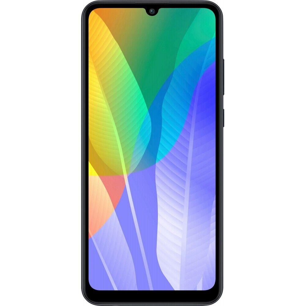 Huawei Y6P (2020) 3Gb RAM 64GB Black Android Smartphone Handy ohne Vertrag