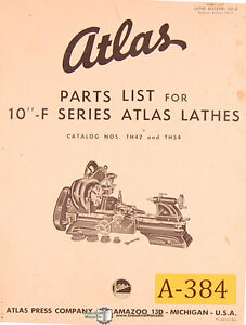 Atlas Lathe Parts Ebay