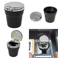 New LED Automotive Cup Holder Ashtray Coin Holder ...