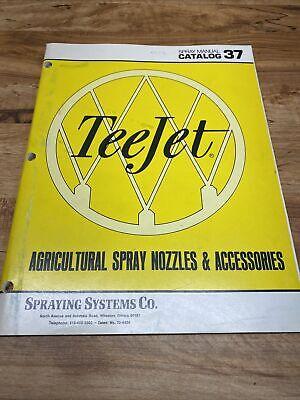 Teejet Catalog : teejet, catalog, Vintage, TeeJet, Farming, Catalog, Farm,, Agriculture, Spray, Nozzles, Manual