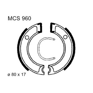 Brake Shoes Exc Springs TRW For Yamaha CA 50 E Salient