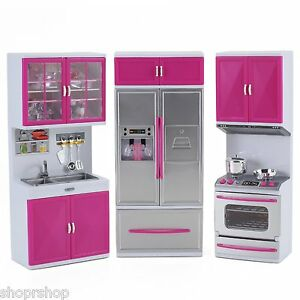 ebay kitchen overstock cabinets my modern full deluxe kit battery operated playset image is loading