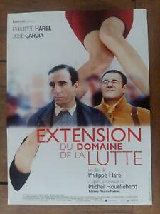 Extension Du Domaine De La Lutte (film) : extension, domaine, lutte, (film), Poster, Extension, Field, Wrestling, Philippe, Harel, José, Garcia