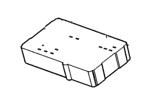 Genuine GM 12193854 BLOCK Assembly body Fuse Relays 1998