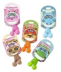 Toothbrush Holder ~ Kids/Family ~ Novelty Suction Cup ...