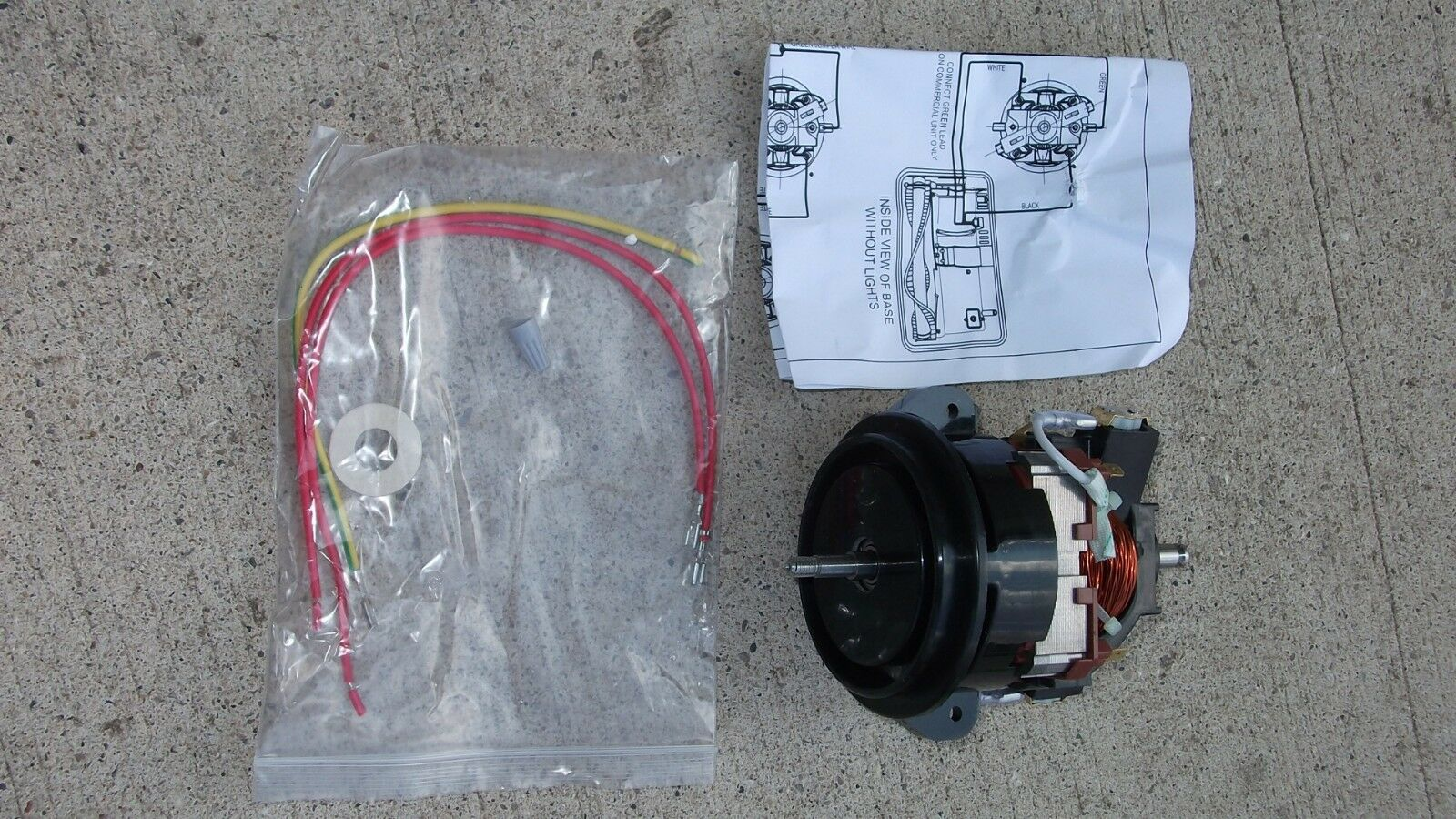 hight resolution of oreck 09 20082 01 tungsten wire assembly w wire stop for sale online ebay