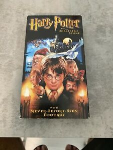 Harry Potter En 5 Minutes : harry, potter, minutes, Harry, Potter, Sorcerers, Stone, (VHS,, 2002,, Includes, EXTRA, MINUTES)