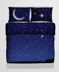 Double Size Starry Sky Photo Print Duvet cover Bed Set ...