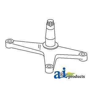 John Deere Parts BELLCRANK AL55151 2755 (MIDDLE HIGH