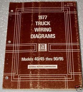 1977 GMC CHEVY 40 50 60 90 95 MEDIUM HEAVY DUTY TRUCK BUS
