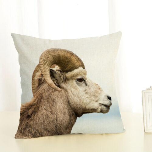 18 wildlife animal sheep panda bear cushion cover decorative throw pillow case