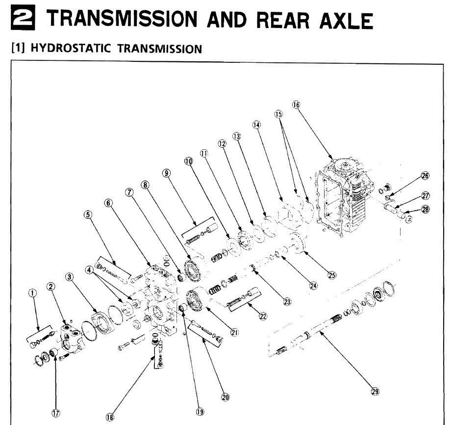 Heavy Equipment Parts & Accessories Kubota G2000 G1700