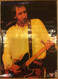Original Vintage Poster Pete Townsend The Who 1970's ...