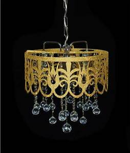 Image Is Loading Oriental Chandelier With Real Fine Lead Crystal
