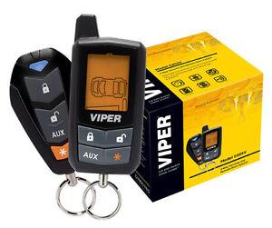 viper 5305v car alarm 1986 chevy silverado radio wiring diagram 2 way lcd vehicle keyless entry remote start system dei | ebay