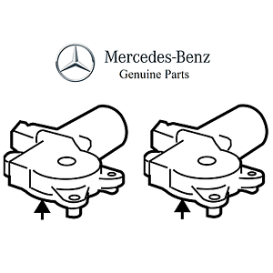 For Mercedes W219 CLS500 CLS63 AMG Pair Set Of Passenger