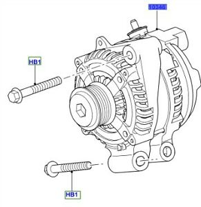 LAND ROVER GENUINE ALTERNATOR- Range Rover Sport (L320