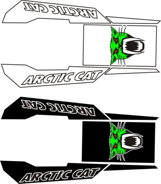 ARCTIC CAT logo TUNNEL top KIT Z1 F 570 F8 F5 SNO PRO LXR