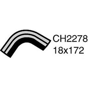 CH2278 Engine By Pass Hose for Nissan Maxima J31 3.5L V6