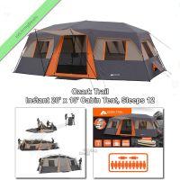 12 Person Ozark Trail Instant Cabin Tent 3Rm 20x10 ...