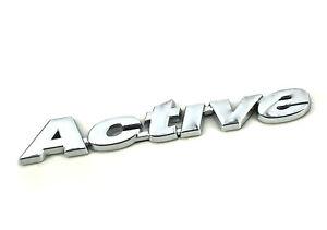 Genuine New FIAT ACTIVE BADGE for Punto & Grand Punto HGT