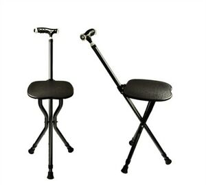 walking stick chair lowes card table and chairs adjustable folding cane with seat image is loading