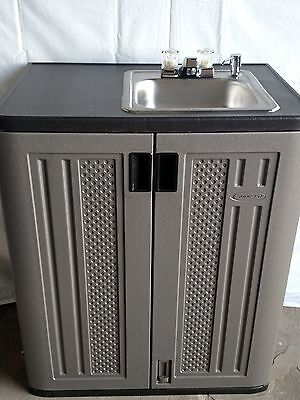 portable 12 volt propane outdoor sink with hot water ebay