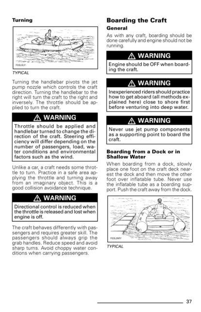 Sea-Doo Explorer, 2002 Owners Manual Paperback Free