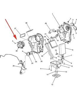 OEM GM 15-81781 Blower Motor 08-12 Tahoe Acadia Enclave