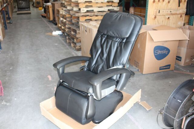 htt massage chair modern outdoor dining chairs australia ht 100 human touch robotic recliner black ebay