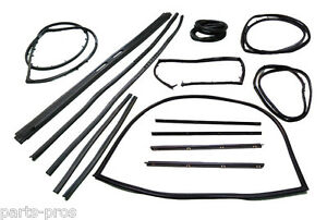 New 15-pc Fairchild Super Weatherstrip Kit / FOR LISTED