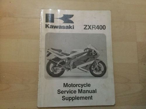small resolution of  array genuine kawasaki zxr400 motorcycle repair manual supplement ebay rh ebay