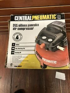 Central Pneumatic Air Compressor 3 Gallon 100 Psi