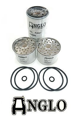 Oil and Fuel Filter Kit Set for Massey Ferguson 135 and