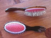 wire bristled hair brush hairbrush