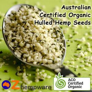 Hemp Seeds Hulled Australian Certified Organic Vegan Fresh 250g 1kg 2kg 4kg 10kg Ebay