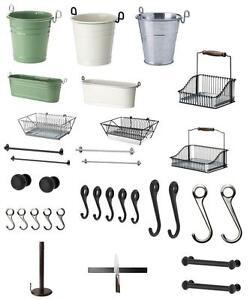 Dettagli Su Ikea Fintorp Accessori Cucina Bagno Accessori Gamma In Un Fare La Lista
