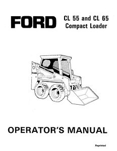 NEW HOLLAND Ford SE4392 CL55 CL65 Compact Loader Tractor
