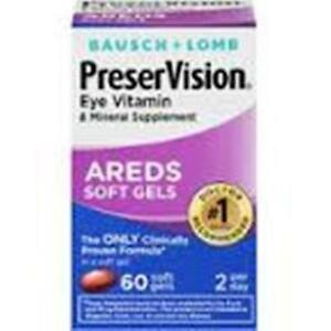 Bausch & Lomb Preservision Eye - Areds - 60 ct   eBay