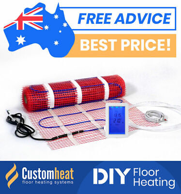 floor heating kits diy all sizes electric underfloor under tile floorheating ebay