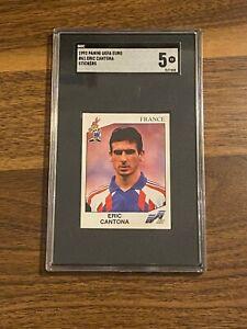 Manchester united legend eric cantona insisted he was not. Eric Cantona Panini Euro 92 Sticker #61 SGC 5 Rare | eBay
