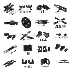 Black Alum Upgrade Parts For RC 1/12 WLtoys 12428 12423