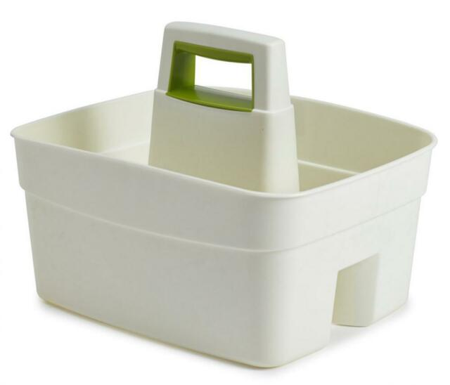 kitchen caddy pendant lights for island whitefurze with leaf green insert plastic cream ebay picture 2 of