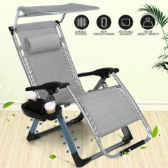 Beach Chair Photo Frame Ergonomic Home Office Buy Heavy Duty Zero Gravity Folding Lounge Chairs Square W Canopy Holder